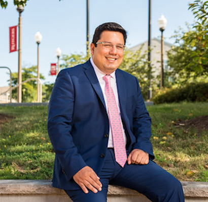 Portrait of Humberto Baquerizo